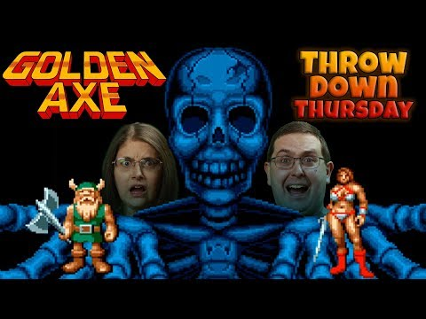 Play Golden Axe - THROW DOWN THURSDAYS - Eric & Mary Let's Play Part 1 - SEGA Genesis
