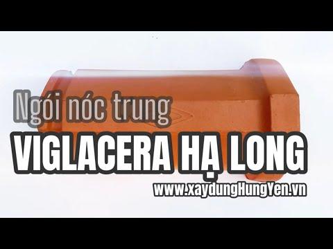 Ngói Nóc Trung (bò Trung) Viglacera Hạ Long | Gạch Ngói Hạ Long | Ngói Lợp Hạ Long