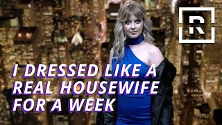 Dressing Like A Real Housewife of New York For A Week | It