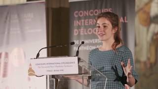 Concours international d'éloquence 2018 - trailer thumbnail