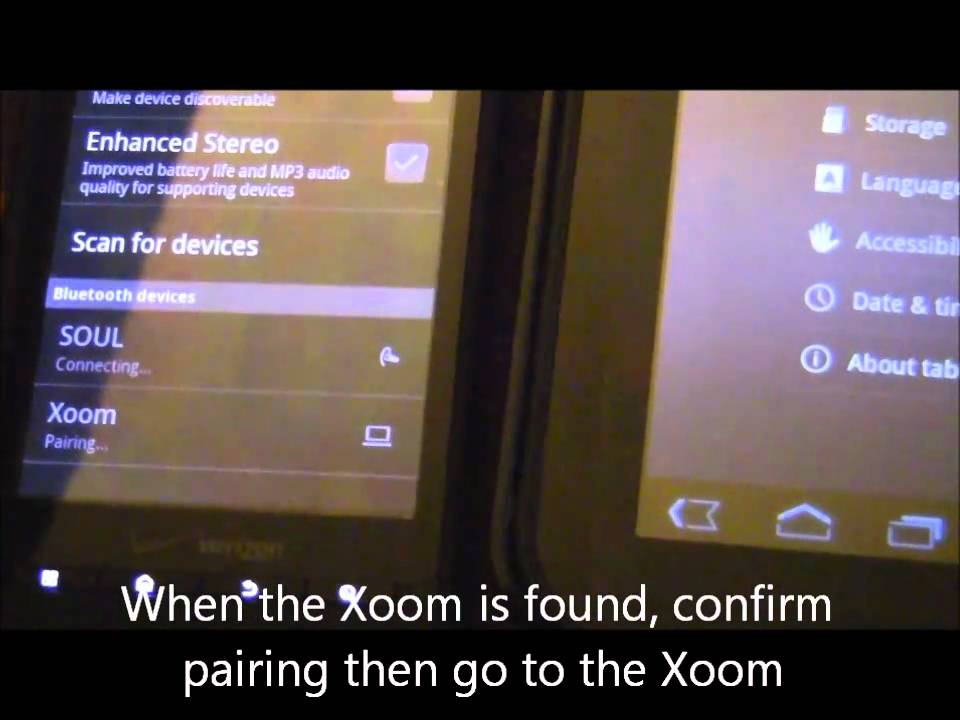 XOOM FE: Can you bluetooth tether? - Lenovo Community