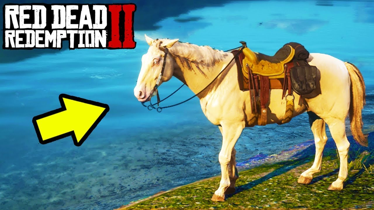 Secret Legendary Gold Horse In Red Dead Redemption 2 Rdr2 Best