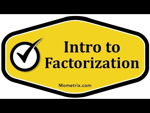 Intro to Factoring in Math