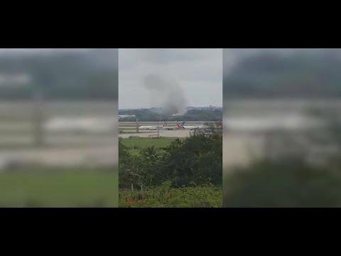 波音737客机古巴坠毁 找到3名生还者