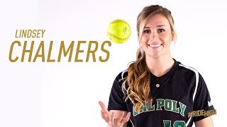 Cal Poly Softball 2018 Senior Tribute Video - Lindsey Chalmers