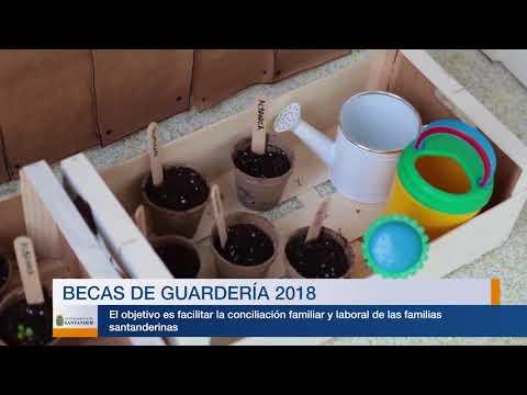 Becas municipales de guardería 2018