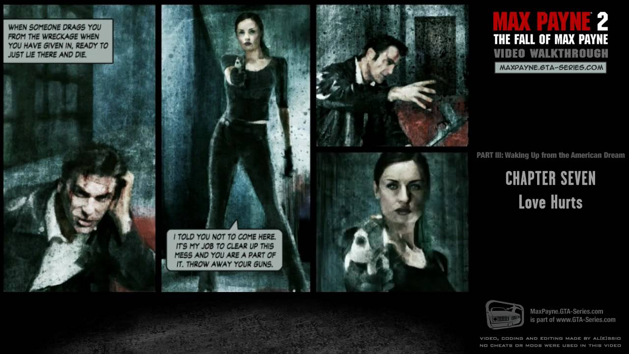 Max Payne 2 Waking Up From The American Dream Love Hurts Hd