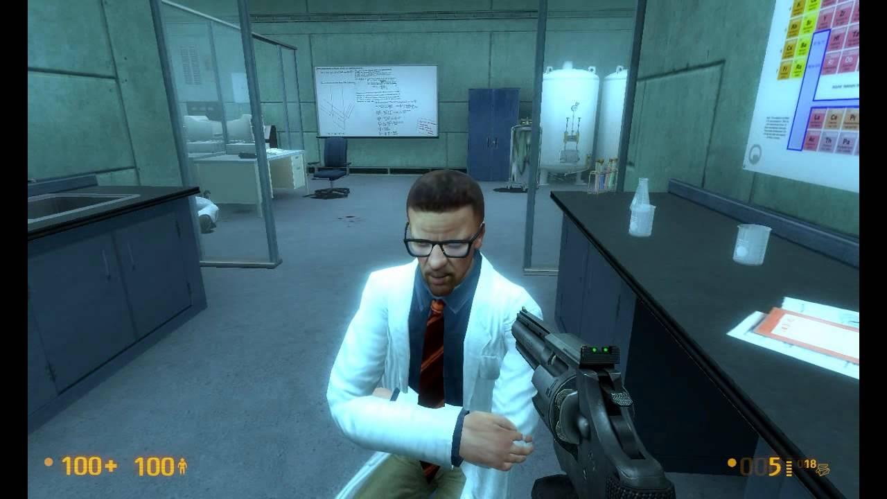 Fun With Freeman Black Mesa Source Mucking Around