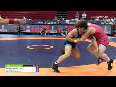 74 3rd Place - Chance Marsteller (TMWC) vs. Isaiah Martinez (TMWC)