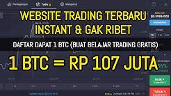 GRATIS 1 BTC BUAT TRADING - WEBSITE PENGHASIL UANG TERBARU 2020