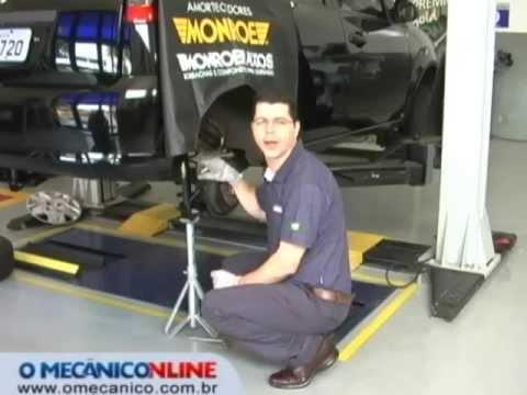 Troca dos amortecedores do Ford Fiesta - cap. 1
