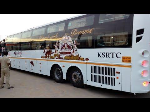 KSRTC Multi Axle Volvo Sleeper |  AMBAARI Dream Class | Bengaluru - Vijayawada