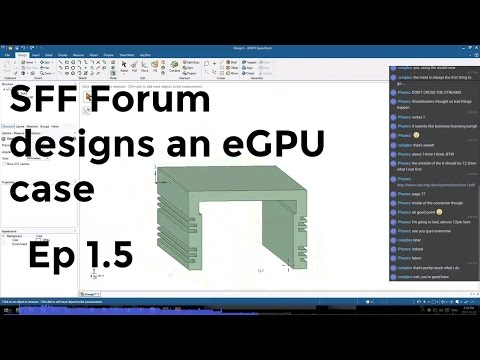 SFF Forum designs an eGPU case -  Episode 1.5 - Beam me up, Scotty