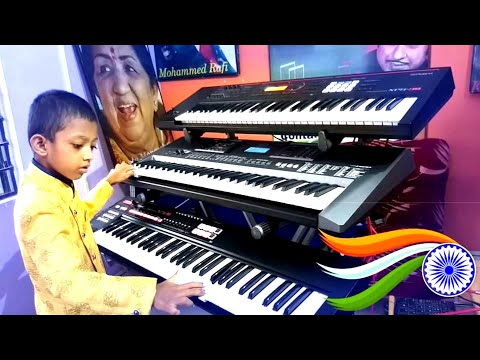 Repeat MY SON PLAYING KEYBOARD (Little MASAD) 😍😍😍 by