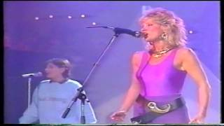 Peter's pop show 1985- Mike Oldfield & Anita Hegerland(Pictures in the dark)