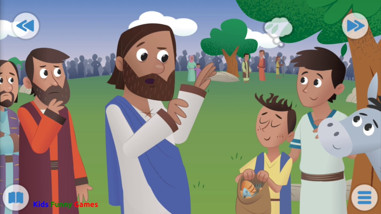 bible for kids the big picnic funny games youtube