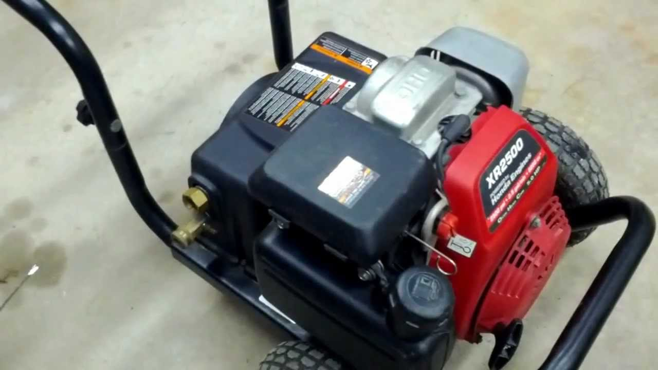 Ex-cell XR2500,XR2700 Pressure Washer Removing The Pump