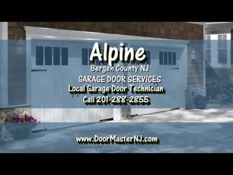 Alpine Garage Door Repair By Doormaster Of Bergen County Garage