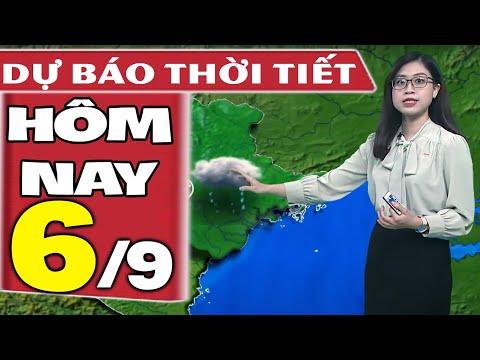 Dự báo thời tiết hôm nay mới nhất ngày 6/9/2021 | Dự báo thời tiết 3 ngày tới