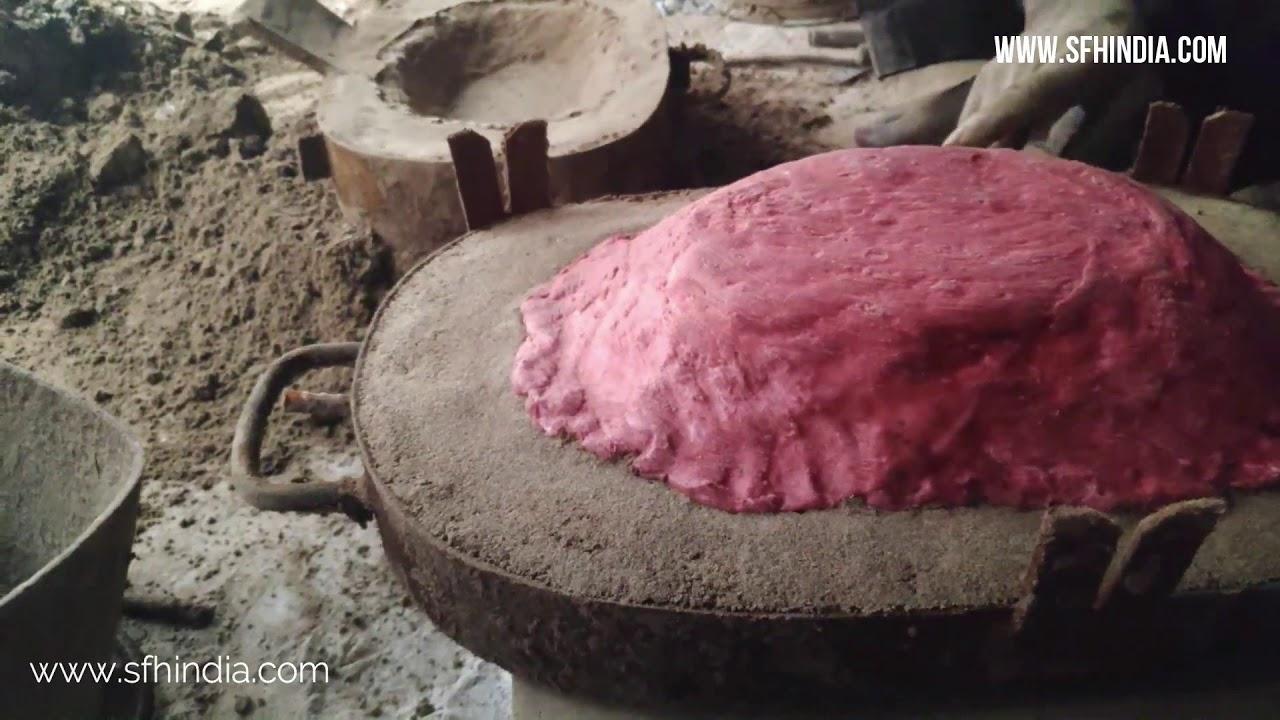 SAND CASTING PROCESS- ALUMINUM BOWL-PART 4