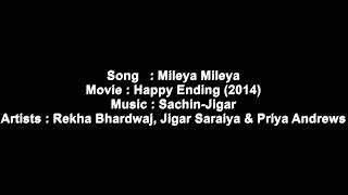 Mileya mileya krakore song