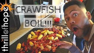 CRAWFISH BOIL [DAILY VLOG, FAMILY VLOGGERS, VEDA]