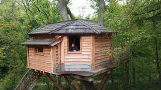 Loches - Ein Wochenende im Baumhaus in Frankreich / cabane dans les arbres en france