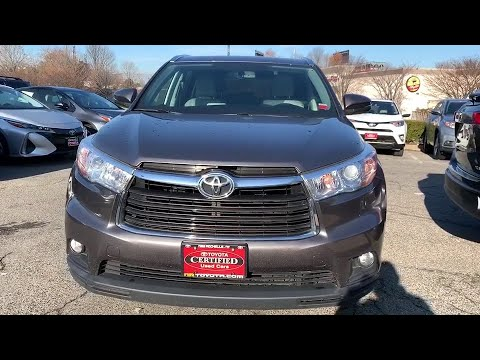 2016 Toyota Highlander Bronx, Mamaroneck, Yonkers, Larchmont, Westchester, NY U32968 from YouTube · Duration:  3 minutes 15 seconds