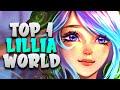 TOP 1 LILLIA WORLD - O CAMPEÃO FREE ELO DA JUNGLE!