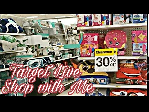 Target Shop With Me / Just for Fun 💗 Live Stream