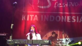 Isyana Sarasvati - Tetap Dalam Jiwa (Indo Jazz Fest 2015)