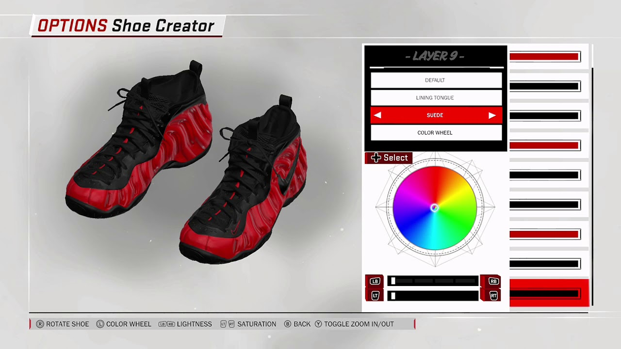 NBA 2K17 Shoe Creator