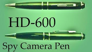 hd500 hd600 spy camera pen true 1080p true 30fps