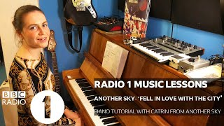 Another Sky - Fell In Love with the City (Piano tutorial with Catrin from Another Sky)