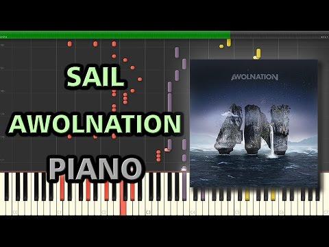 Sail - Awolnation | Synthesia + MIDI