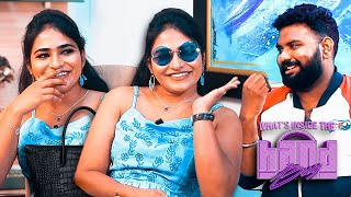 Actress Shruthi Selvam's Handbag Secrets Revealed By VJ Ashiq | What's Inside The Handbag?