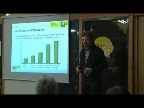 SOLARIER Sunday 2012 Vortrag: Wärmepumpe Pro und Contra
