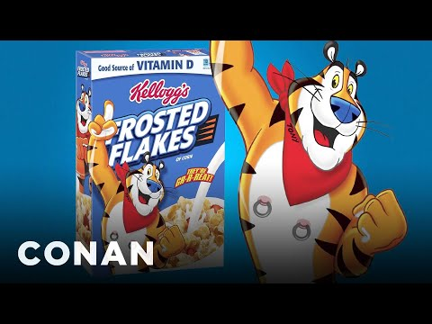 Frosted Flakes & More Brands Are Pandering To Young People  - CONAN on TBS
