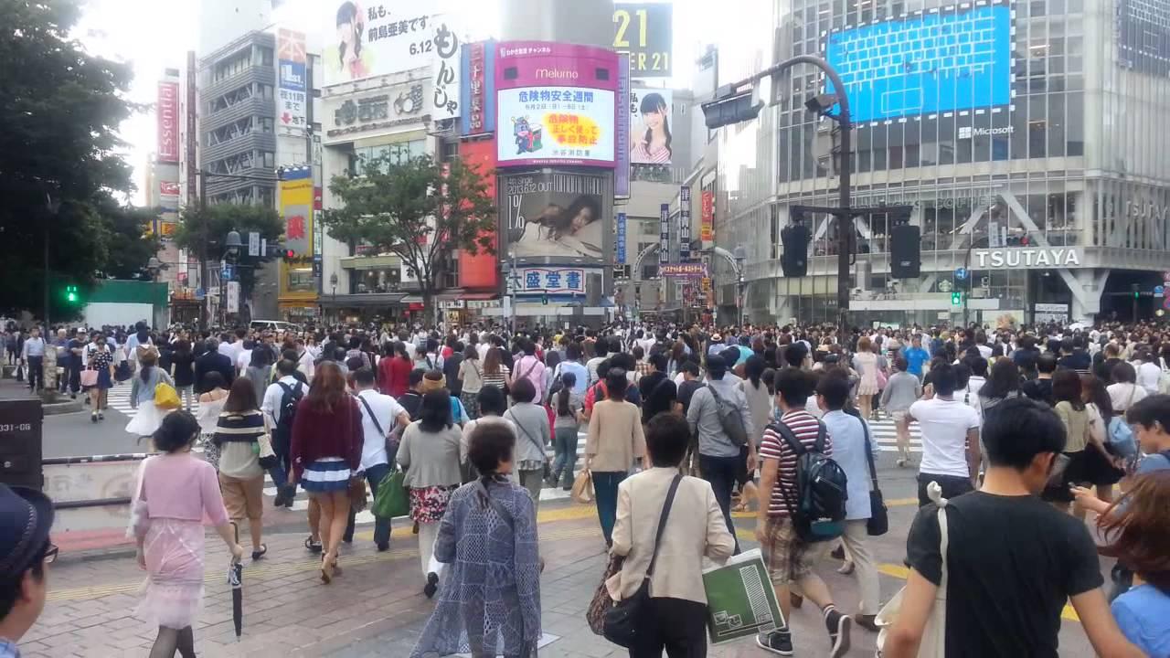 JapanForever In diretta dal Giappone - Shibuya Cross FULL HD