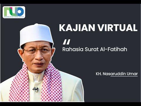 Rahasia surat Al-Fatihah | Prof. Dr. KH. Nasaruddin Umar, MA.