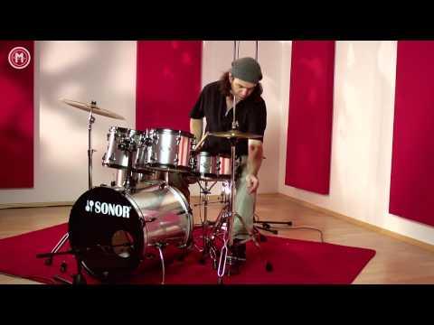 Sonor Smart Force Studio Drums im Test auf MusikMachen.de