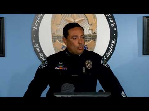 APD press conference regarding Chief Art Acevedo's move to the Houston Police Department