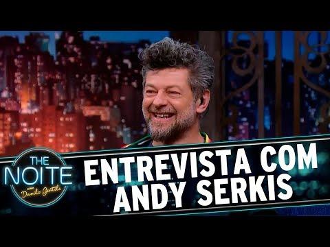 Entrevista com Andy Serkis   The Noite (02/08/17)