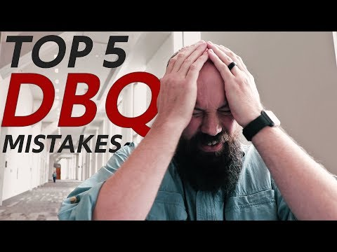 The Top 5 MISTAKES Made on the DBQ—From the AP READERS