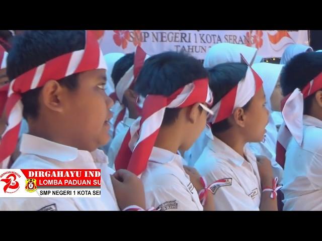 Lomba Padus HUT RI Ke-73 SMP Negeri 1 Kota Serang 2018 part.4