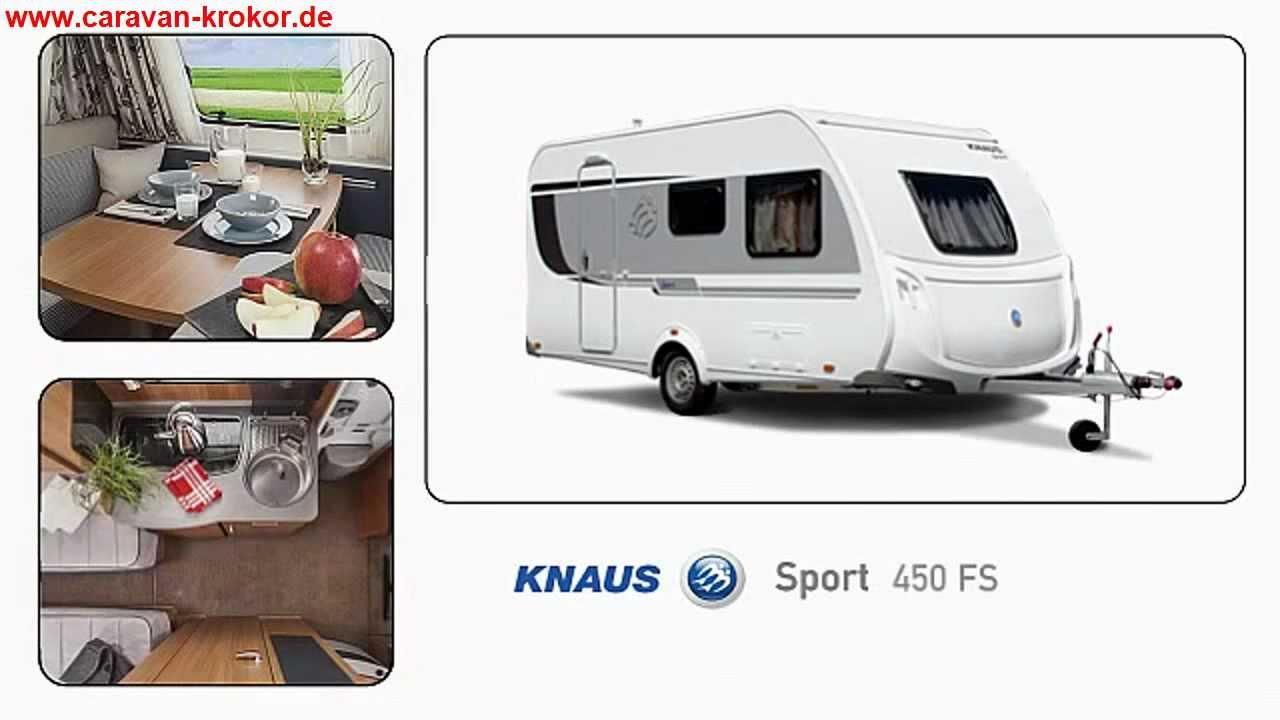 knaus sport 450 fs modell 2013 wohnwagen caravan reisen youtube. Black Bedroom Furniture Sets. Home Design Ideas