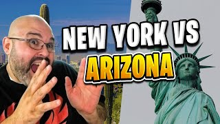 New York vs Arizona | Living in Phoenix Arizona (2018)