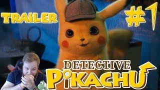 POKÉMON Detective Pikachu Trailer #1 Reaction!!!