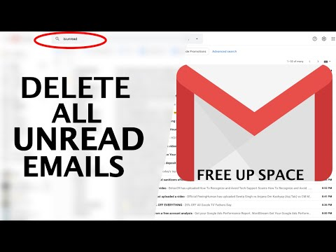 How to Delete All Unread Mails in Gmail at Once