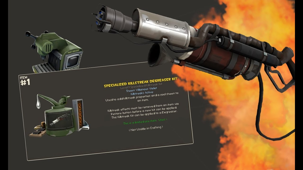 Military Degreaser/Axtinguisher | Team Fortress 2 Skin Mods